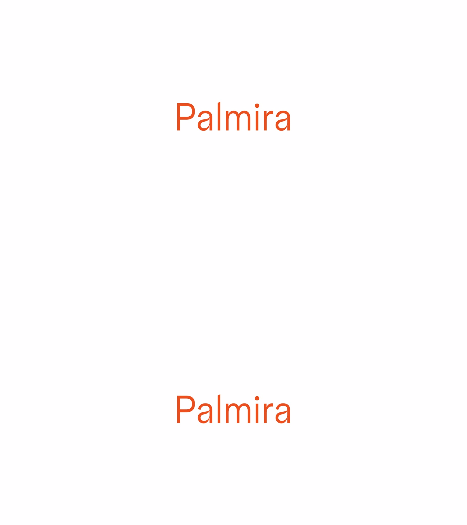 Vergés Basic<br /> is now Palmira!<br /> Visit the website - Vergés
